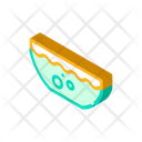 Beetroot Soup Isometric Icon