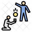 Bully Donate Inequality Icon