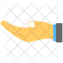 Begging Concept Hand Icon
