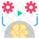 Behavior Brain Play Icon