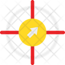 Behavioral Targeting Crosshair Focus Icon