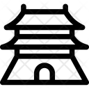 Bejing China Forbidden Icon