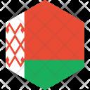 Belarus Flag World Icon