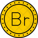 Belarus Ruble Coin Money Icon