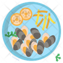 Belgiam Moules Frites Icon
