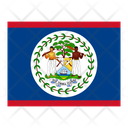 Belize Flag Flags Icon