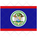 Flag Country Belize Icon