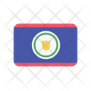 Belize Flag Country Icon