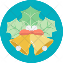 Bell Ring Wreath Icon