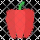 Capsicum Vegetable Organic Icon
