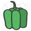 Bell Pepper Green Icon
