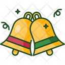 Bell New Year Christmas Icon
