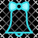 Bell Ribbon Decoration Icon