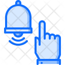 Bell Hand Click Icon