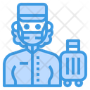 Bell Boy Hotel Occupation Icon