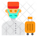 Bell Boy Avatar Mask Icon