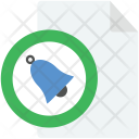 Bell File Icon