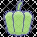 Vegetables Food Capsicum Icon