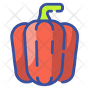 Bell Pepper Vegetable Food Icon