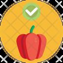 Keto Diet Bell Pepper Vegetable Icon