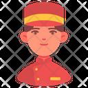 Bellboy Person Avatar Icon