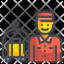 Bellboy Waiter Hotel Icon