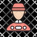Man Worker Service Icon