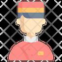 Bellboy Doorman Room Service Icon
