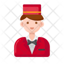 Bellboy Servant Porter Icon