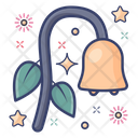 Bellflower Blossom Flower Icon