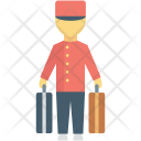 Bellhop Driver Hotel Icon