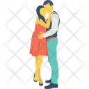 Beloveds Couple Lovers Icon
