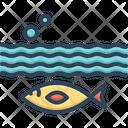 Below Aquarium Aquatic Icon