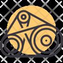 Belt Engine Gear Icon