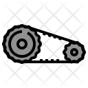 Timing Belt Car Icon