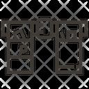 Belt Carpenter Construction Icon