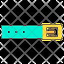Leather Belt Mens Belt Waistband Icon