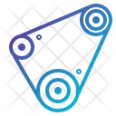 Auto Belt Car Icon