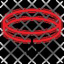 Belt Pet Collar Icon