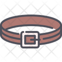 Belt Buckle Leather Icon