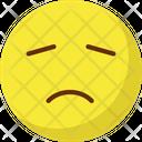 Bemused Face Nodding Emoticons Icon