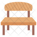 Bench Park Bench Garden Furniture Icon
