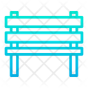 Park Bench Wooden Bench Rest Bench Icon