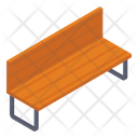 Bench Chair Garden Bench Icon