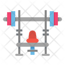 Weight Bench Gym Icon