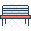 Bench Pew Furniture Icon