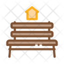 Bench Homeless Home Icon