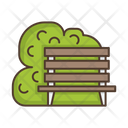 Bench Park Furniture Icon
