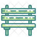 Bench Chair Furniture Icon