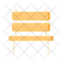 Bench Wooden Bench Seat Icon